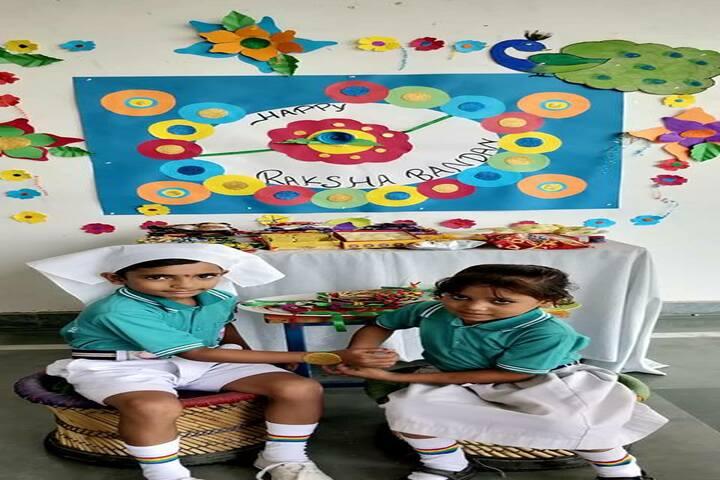 Arya Kamal Public School-Rakhi Celebrations