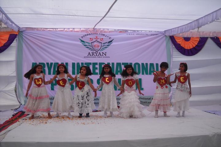 Aryan International Public School-Foundation Day