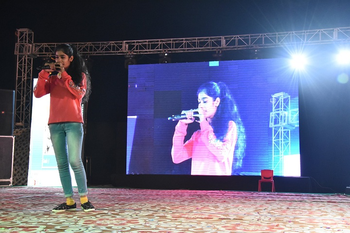Aryan International School-Singing Event