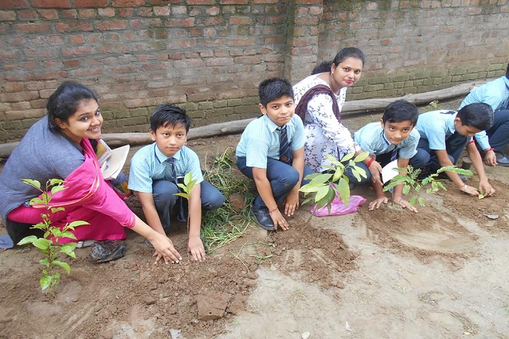Aryan International School-Tree Planting