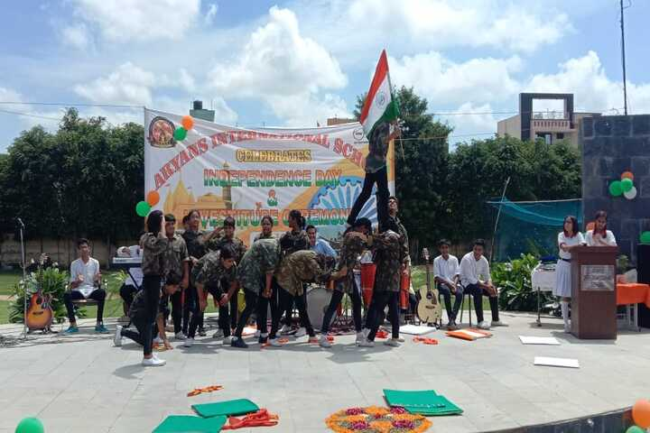 Aryans International School-Independence Day