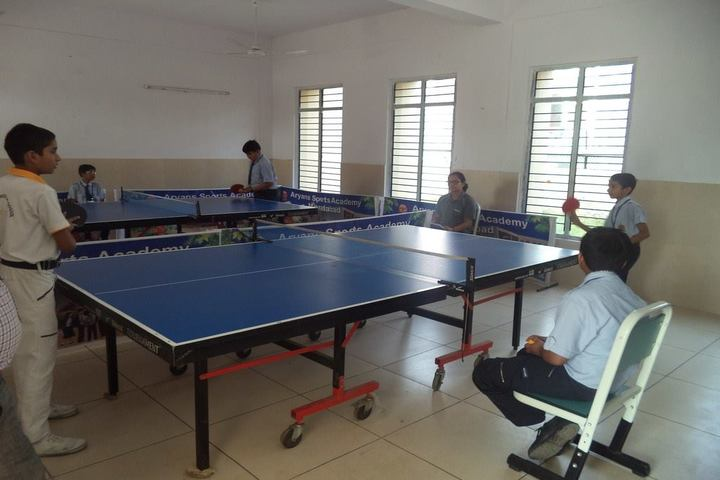 Aryans International School-Indoor Games