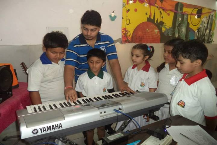 Aryans International School-Music Room