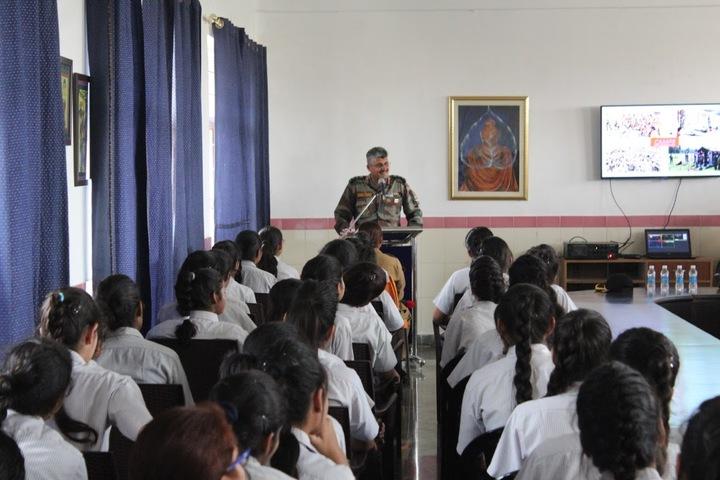 Ascent International School-Workshop On NCC