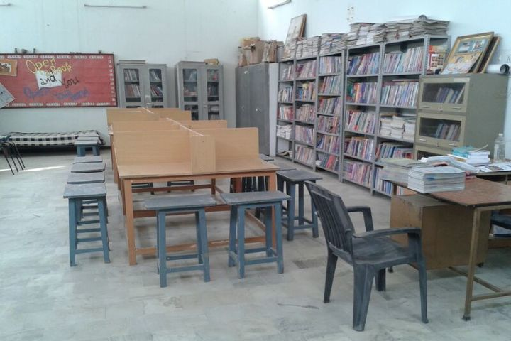 Asha Modern International School-Library