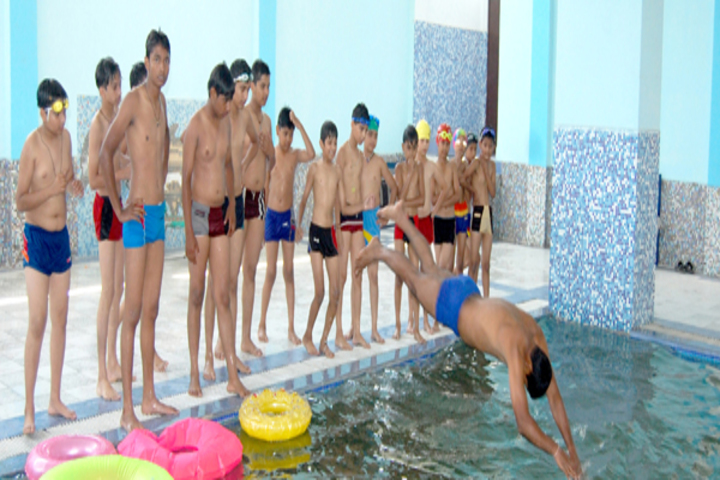 Asha Modern International School-Swimmimng Pool