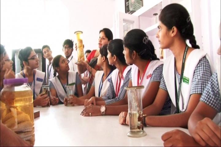 Asha Modern School-Biology Lab