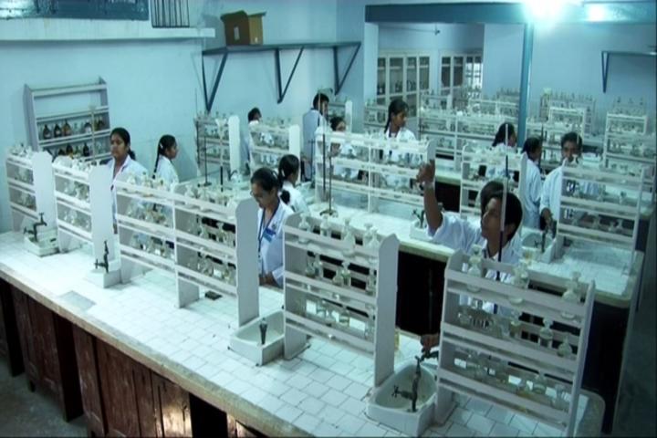 Asha Modern School-Chemistry Lab