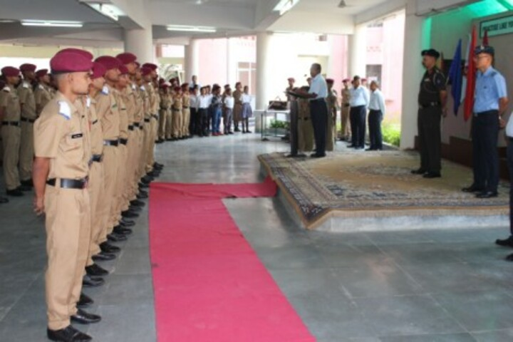 Sainik School-Assembly