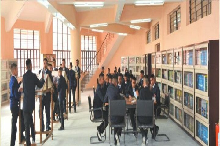 Sainik School-Library