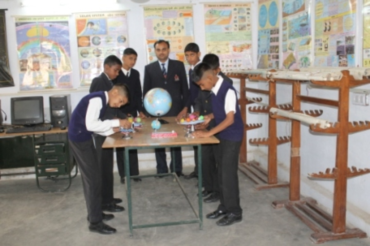 Sainik School-Geogrgaphy Lab