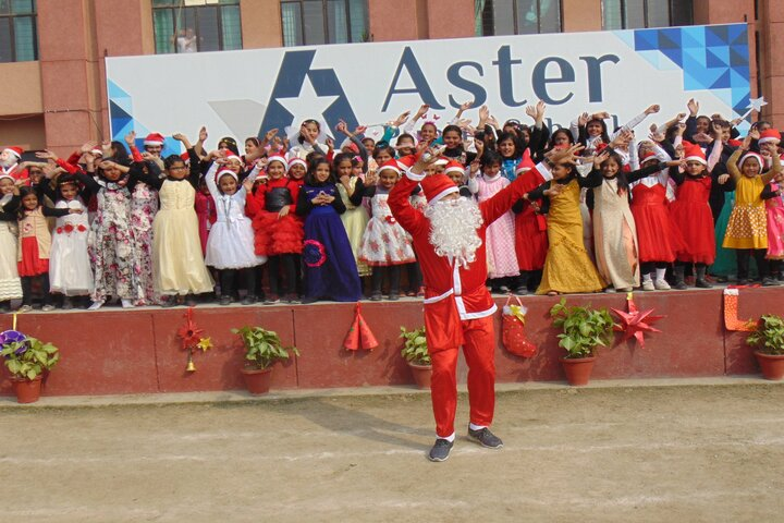 Aster Public School-Christmas Celebrations