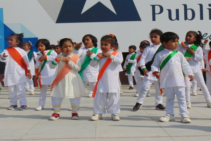 Aster Public School-Independence Day Celebrations