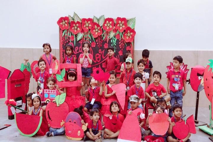Aster Public School-Red Day Activity