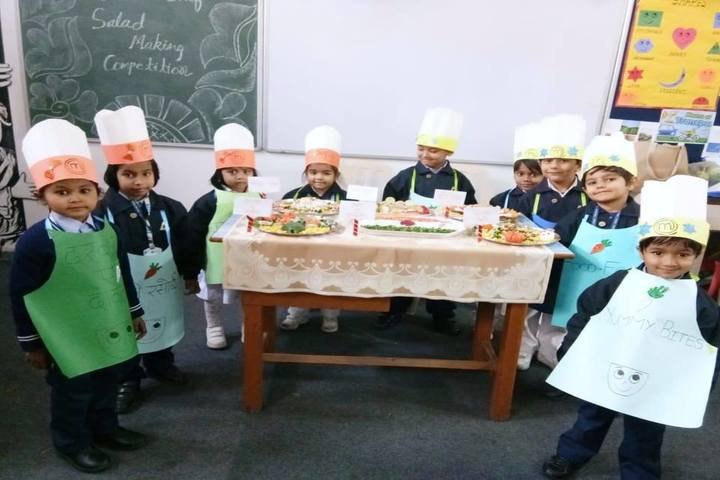 Aster Public School-Salad Making Competition