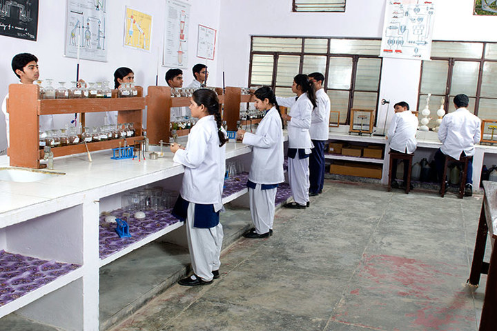 Avadh Collegiate-Chemistry Lab