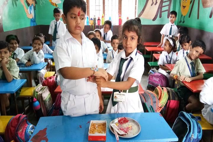 Awadh Public School-Rakhi Celebrations