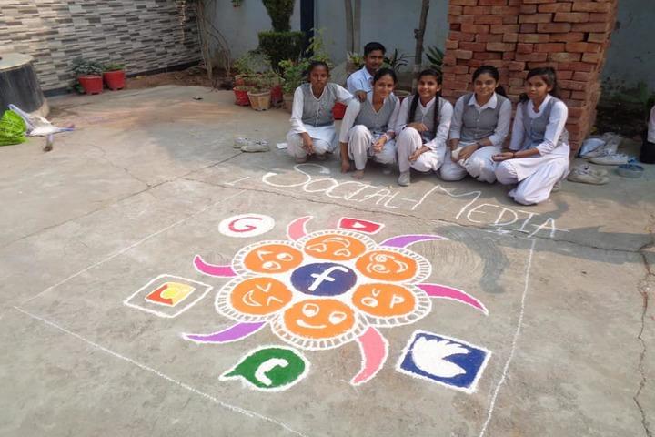 Awagarh Public School-Rangoli Competitions