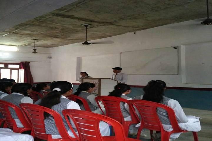 Awagarh Public School-Student Speech