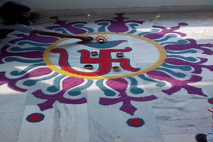 AYT Senior Secondry School-Rangoli