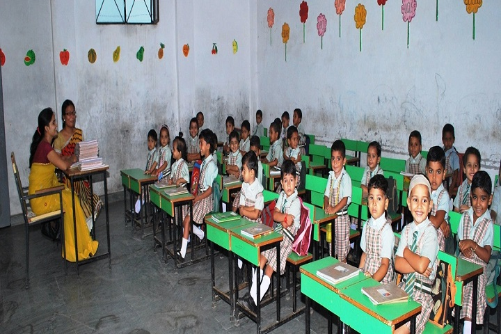 Azad International School-Classroom