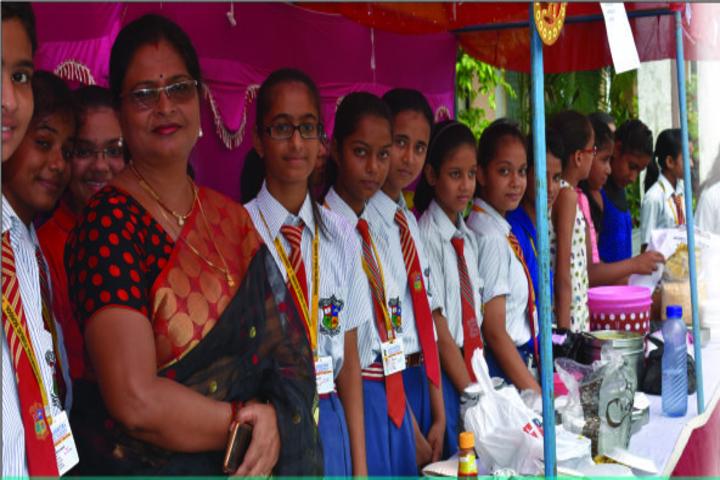 Sanghmitra Public School-Food Festival