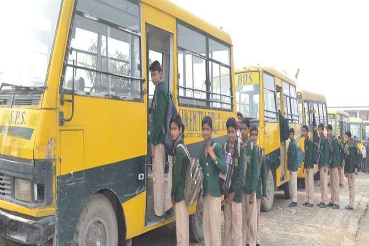 Sanghmitra Public School-School Buses
