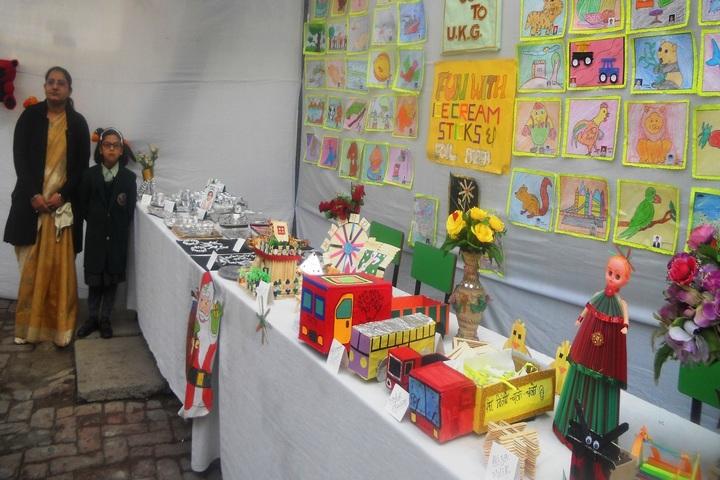 Azad Public School-Art and Craft