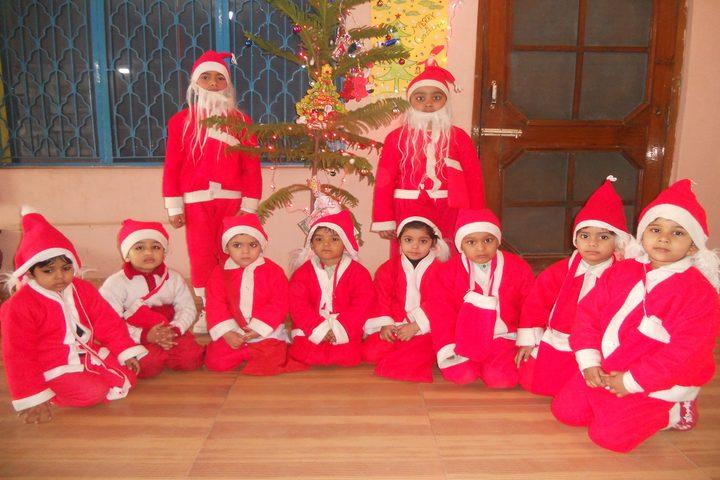 Azad Public School-Christmas Celebrations