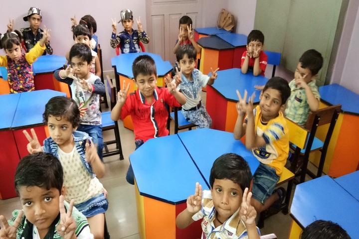 Azad Public School-Classroom
