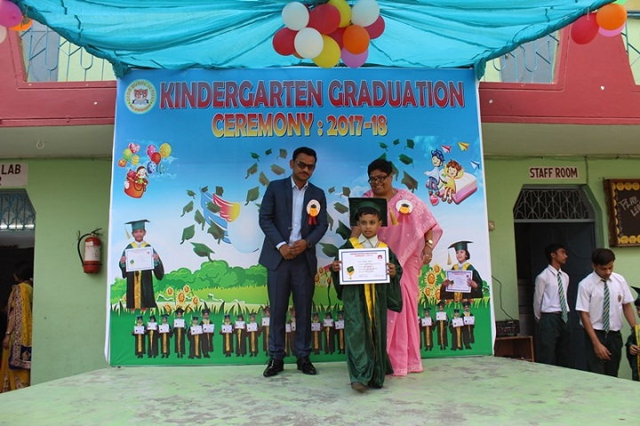 Azad Public School-Graduation Day