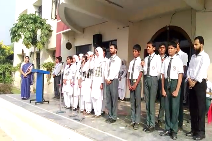 Azamgarh Public School-Singing