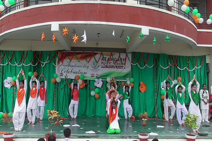 Azamgarh Public School-Independence Day Celebrations