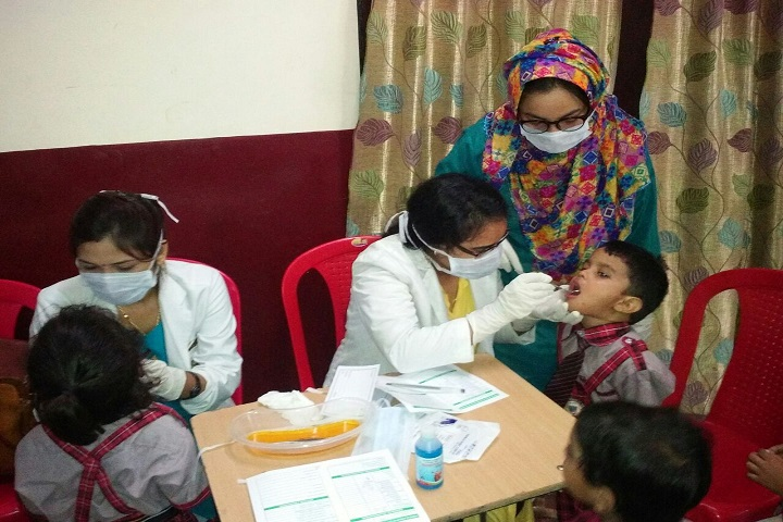 Azamgarh Public School-Medical Camp