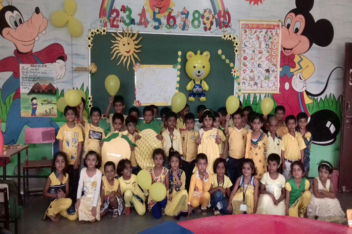 Azamgarh Public School-Yellow Day Celebrations
