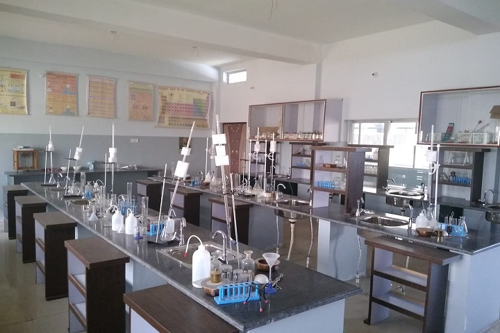 B and B International School-Chemistry Lab