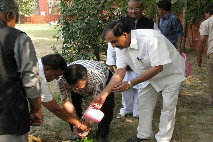 B Devras Saraswati Vidya Mandir-Tree Planitation