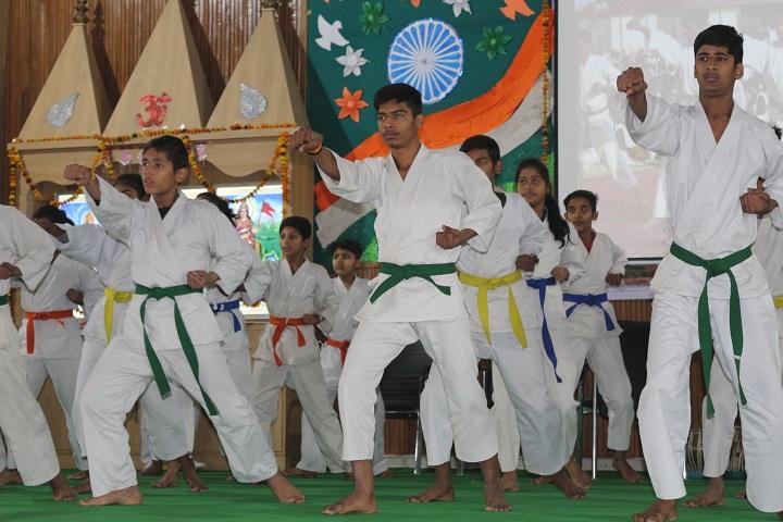B Devras Saraswati Vidya Mandir-Karate