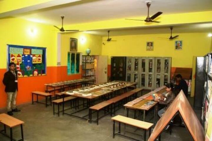 B K Senior Secondary School-Library