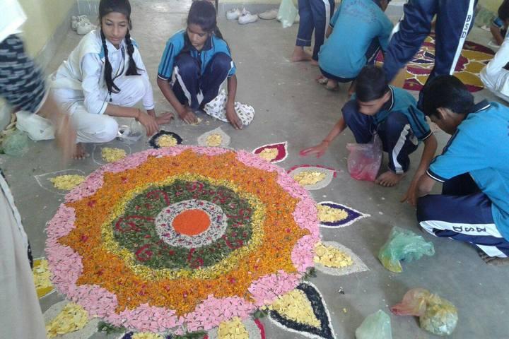 BSD Public School-Rangoli