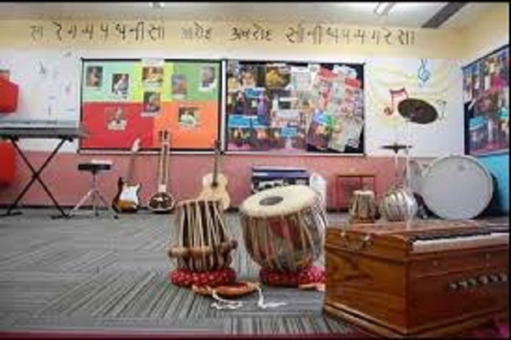 B L International School-Music Room