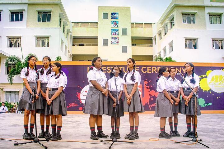 Cornerstone School-Singing