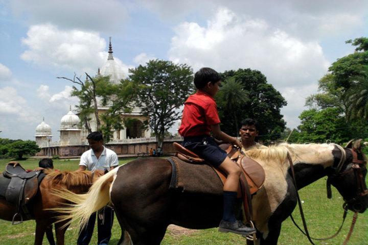 Sanskar Bharti Global School-Horse Riding