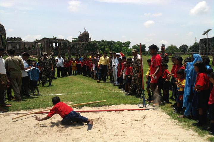 Sanskar Bharti Global School-Long Jump Activity