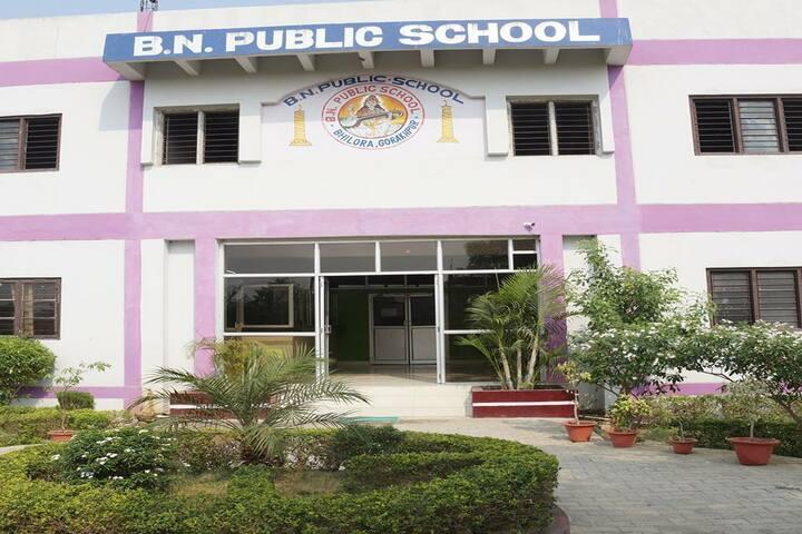 B N Public School-Campusview