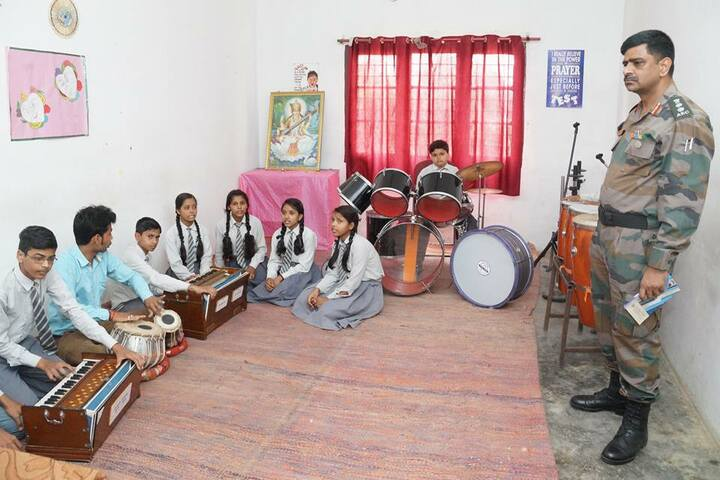B N Public School-Music Room