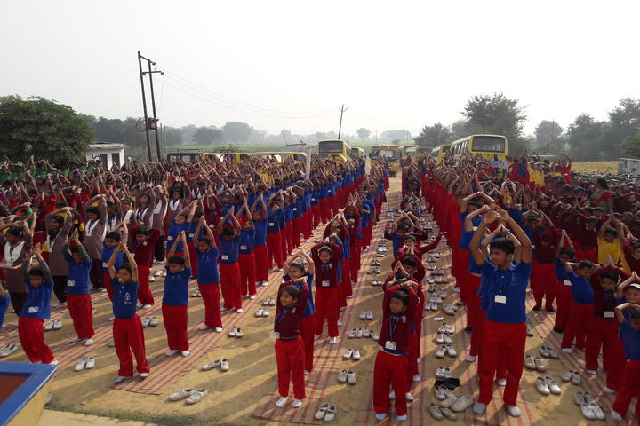B P S Public School-Yoga Day