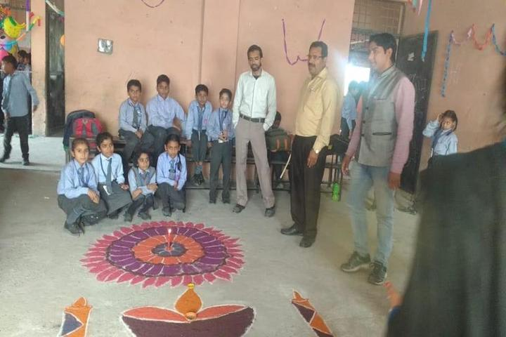 B D Public School-Diwali Celebrations