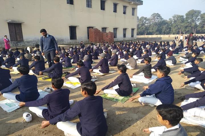 B D Public School-Yoga