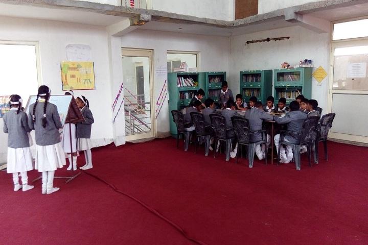 B R GENIUS INTERNATIONAL SCHOOL-Library